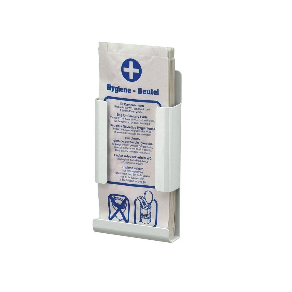 Mediqo-Line hygiënezakjehouder wit-papier MQHBPAP