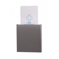 Dutch Bins hygiënezakjesdispenser RVS voor papieren hygiënezakjes ACHBDPE