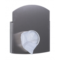 Dutch Bins hygiënezakjesdispenser RVS voor papieren en plastic zakjesACHBDPE
