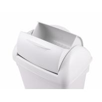 PlastiQline hygiënebak 8 liter kunststof wit PQH8