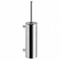 WC-borstelset kokermodel wandmontage RVS gepolijst