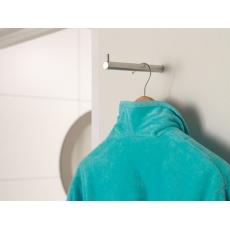 Handdoek/kleding steun universeel 100mm RVS