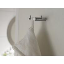 Handdoek/kledinghaak T-vorm horizontaal
