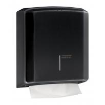 Mediclinics handdoekdispenser zwart DT2106B
