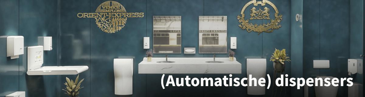 Automatische Desinfectie Zeepdispensers