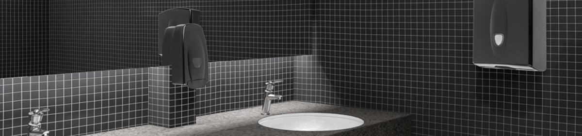 Dispensers in een Sanitaire Ruimte